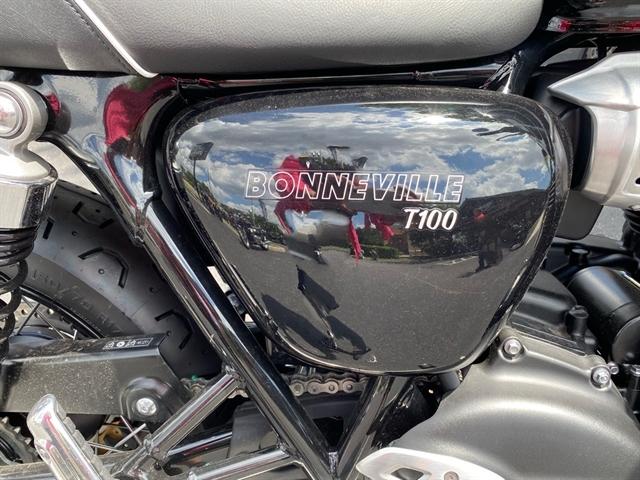 2022 Triumph Bonneville T100 Base at Tampa Triumph, Tampa, FL 33614