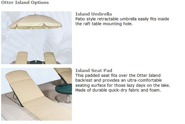 2021 Otter Island 8' x 10' Otter Island Swim Raft at Fort Fremont Marine