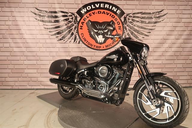 2020 Harley-Davidson Softail Sport Glide at Wolverine Harley-Davidson