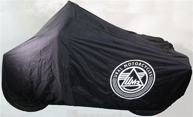 2019 URAL BLACK BIKE COVER at Randy's Cycle, Marengo, IL 60152