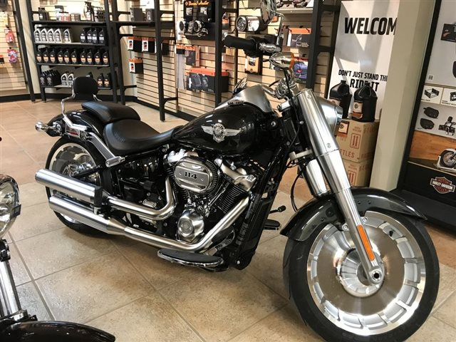 2018 Harley-Davidson Softail Fat Boy 114 at Lentner Cycle Co.
