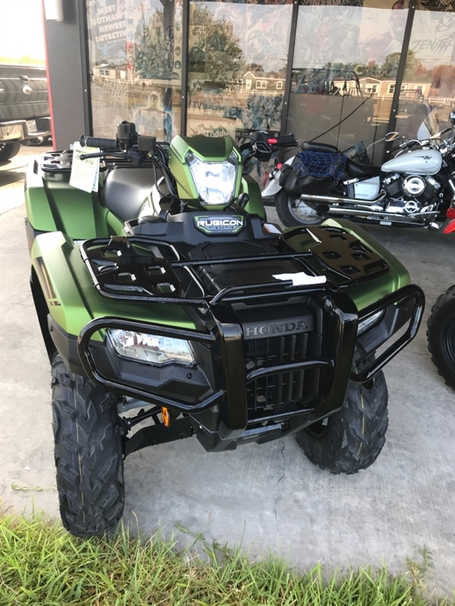 2020 Honda FourTrax Foreman® Rubicon 4x4 Automatic DCT EPS Deluxe at Dale's Fun Center, Victoria, TX 77904