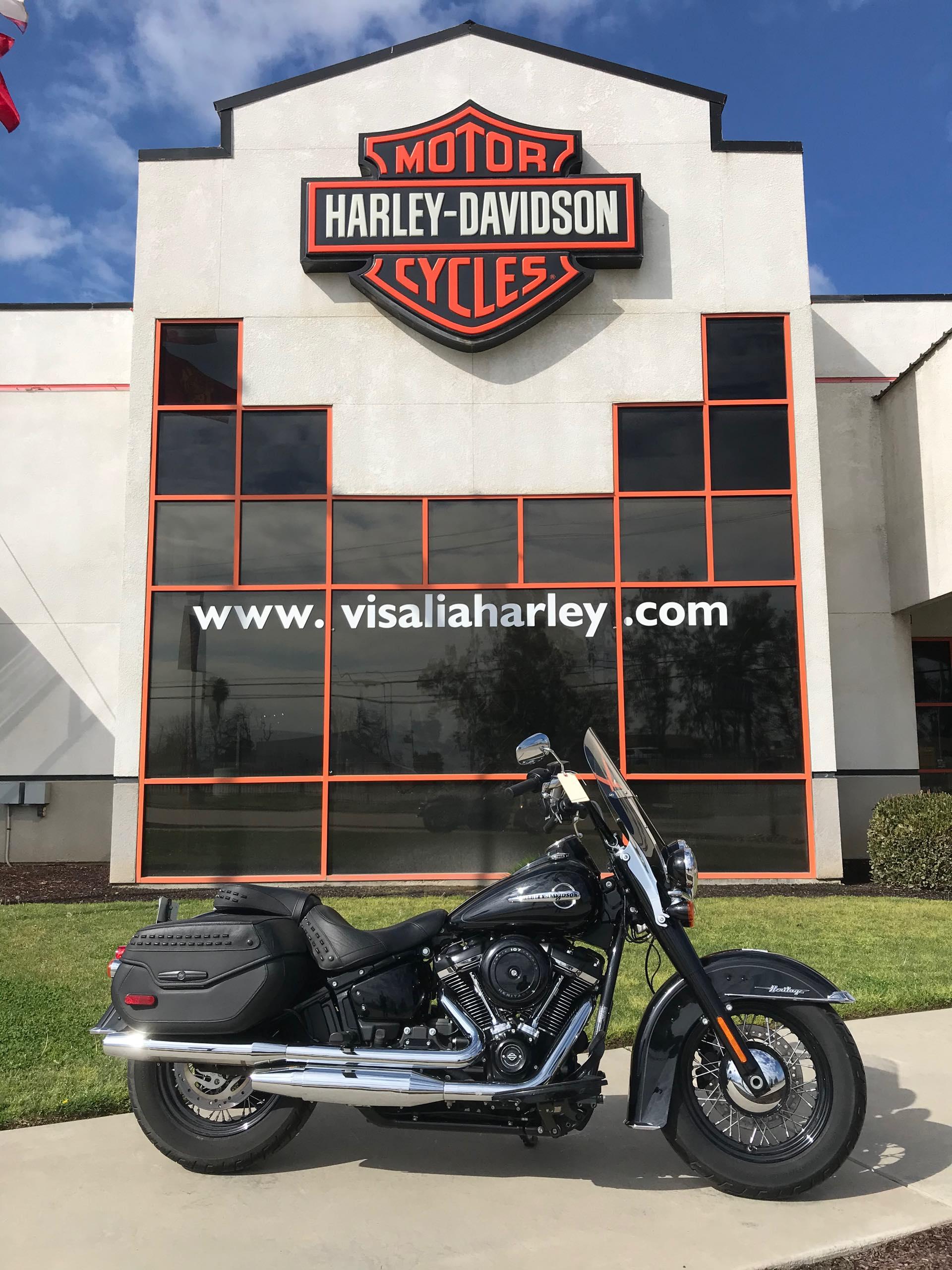2019 Harley-Davidson Softail Heritage Classic at Visalia Harley-Davidson