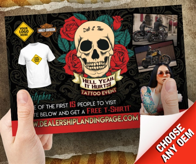 Hell Yeah It Hurts Tattoo Event Powersports at PSM Marketing - Peachtree City, GA 30269