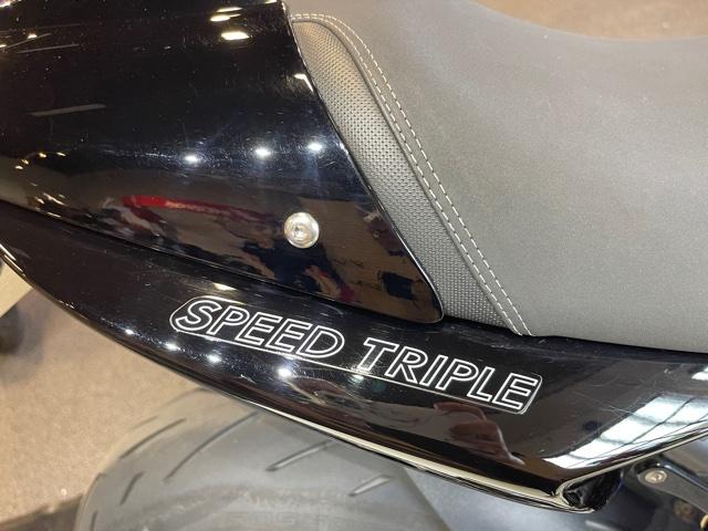 2008 Triumph Speed Triple at Martin Moto