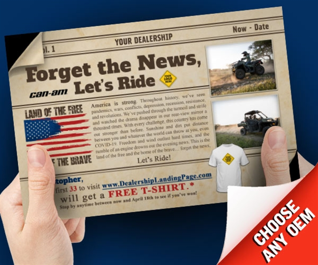 Forget The News Lets Ride Powersports at PSM Marketing - Peachtree City, GA 30269