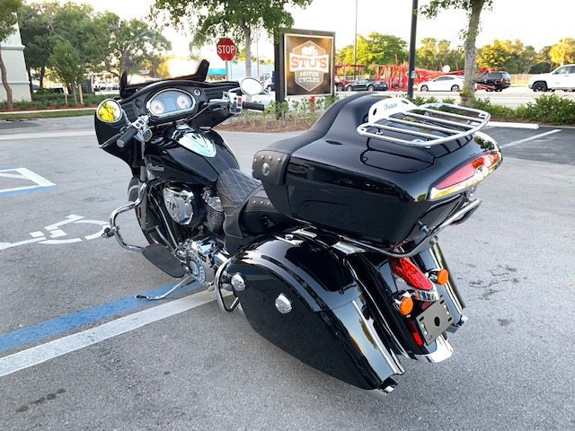 2015 Indian Roadmaster Base at Fort Lauderdale