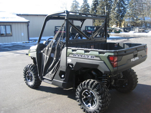 2020 Polaris Ranger XP 1000 EPS-Matte Green at Fort Fremont Marine