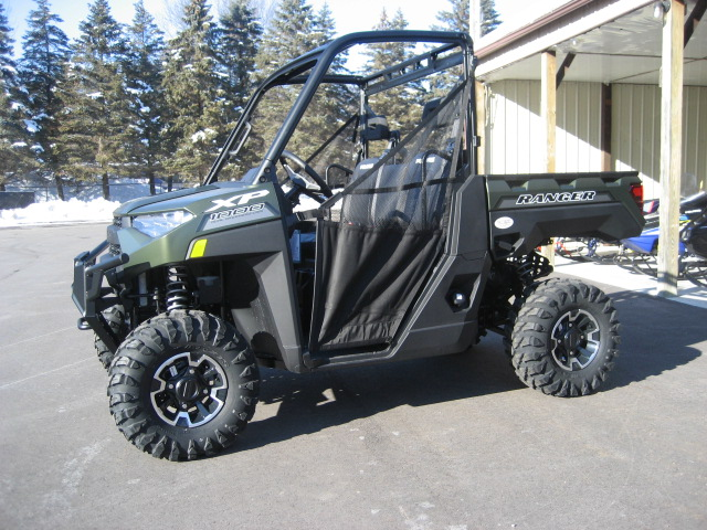 2020 Polaris Ranger XP 1000 EPS-Matte Green at Fort Fremont Marine
