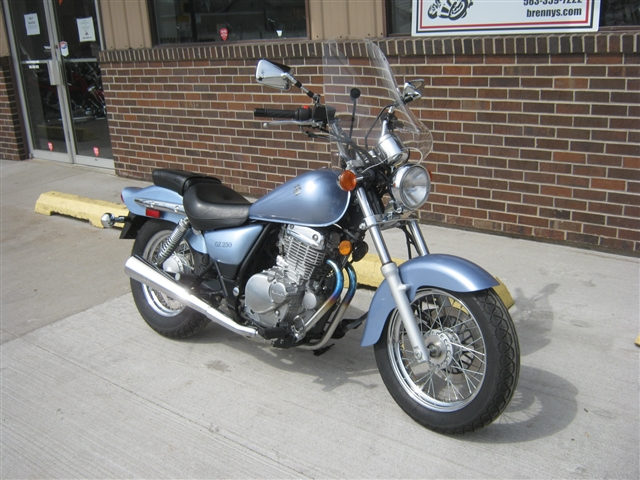 2006 Suzuki GZ250 at Brenny's Motorcycle Clinic, Bettendorf, IA 52722