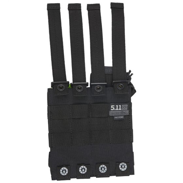 2019 5.11 Tactical Double AR Bungee/Cover Black at Harsh Outdoors, Eaton, CO 80615