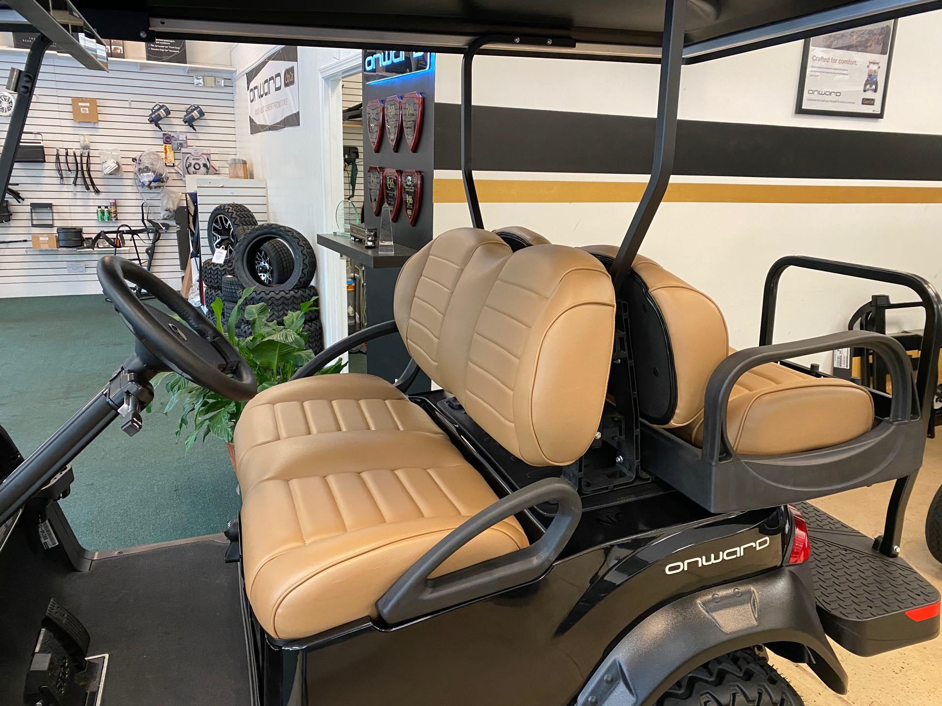 2021 Club Car Onward 4 Passenger - Lifted - Gas at Bulldog Golf Cars