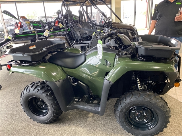 2020 Honda FourTrax Rancher 4X4 EPS at Dale's Fun Center, Victoria, TX 77904