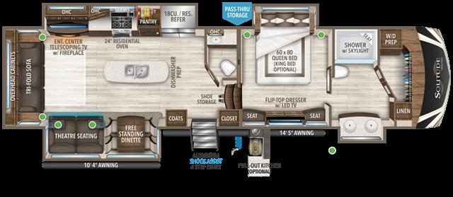 2021 Grand Design Solitude 373FB at Youngblood RV & Powersports Springfield Missouri - Ozark MO