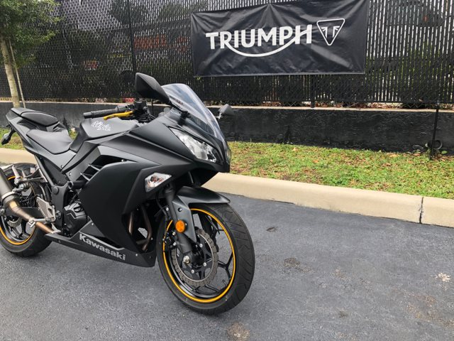 2016 Kawasaki Ninja 300 at Tampa Triumph, Tampa, FL 33614
