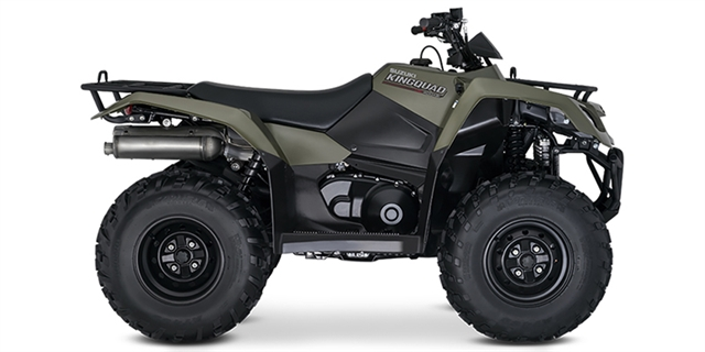 2019 Suzuki KingQuad 400 ASi at Hebeler Sales & Service, Lockport, NY 14094