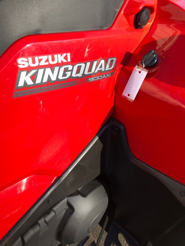 2020 Suzuki KingQuad 500 AXi at Sloans Motorcycle ATV, Murfreesboro, TN, 37129