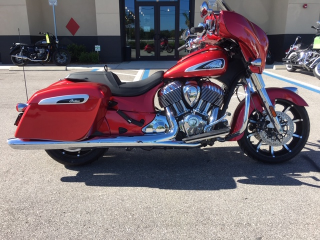 2019 Indian Chieftain Limited at Fort Myers