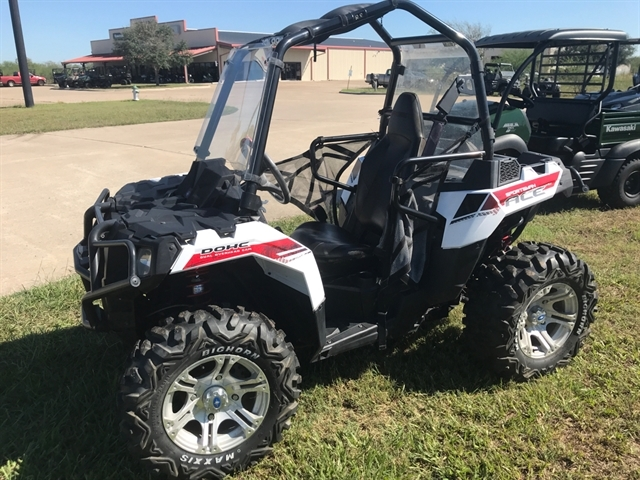 2014 Polaris Sportsman ACE White Lightning at Dale's Fun Center, Victoria, TX 77904