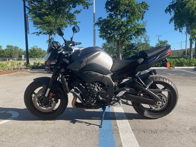 2013 Yamaha FZ 8 at Fort Lauderdale