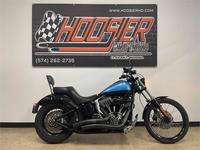 2011 Harley-Davidson Softail Blackline at Hoosier Harley-Davidson