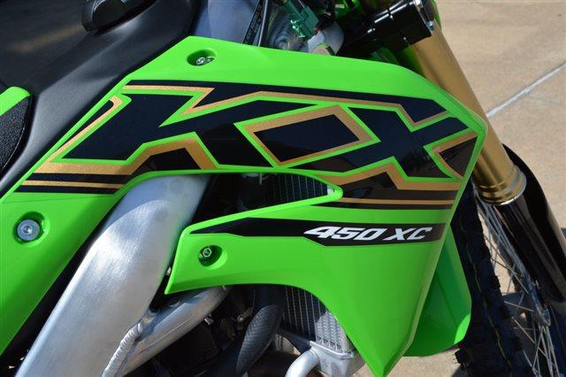 2021 Kawasaki KX 450X at Shawnee Honda Polaris Kawasaki