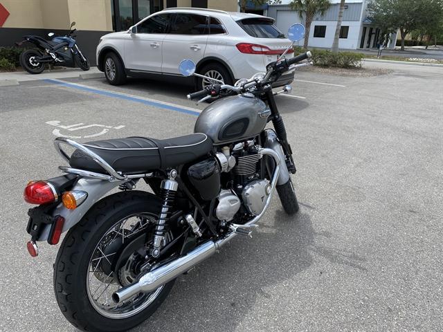 2020 Triumph Bonneville T120 Black at Fort Myers