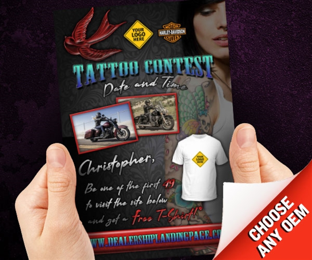 Tattoo Contest Powersports at PSM Marketing - Peachtree City, GA 30269