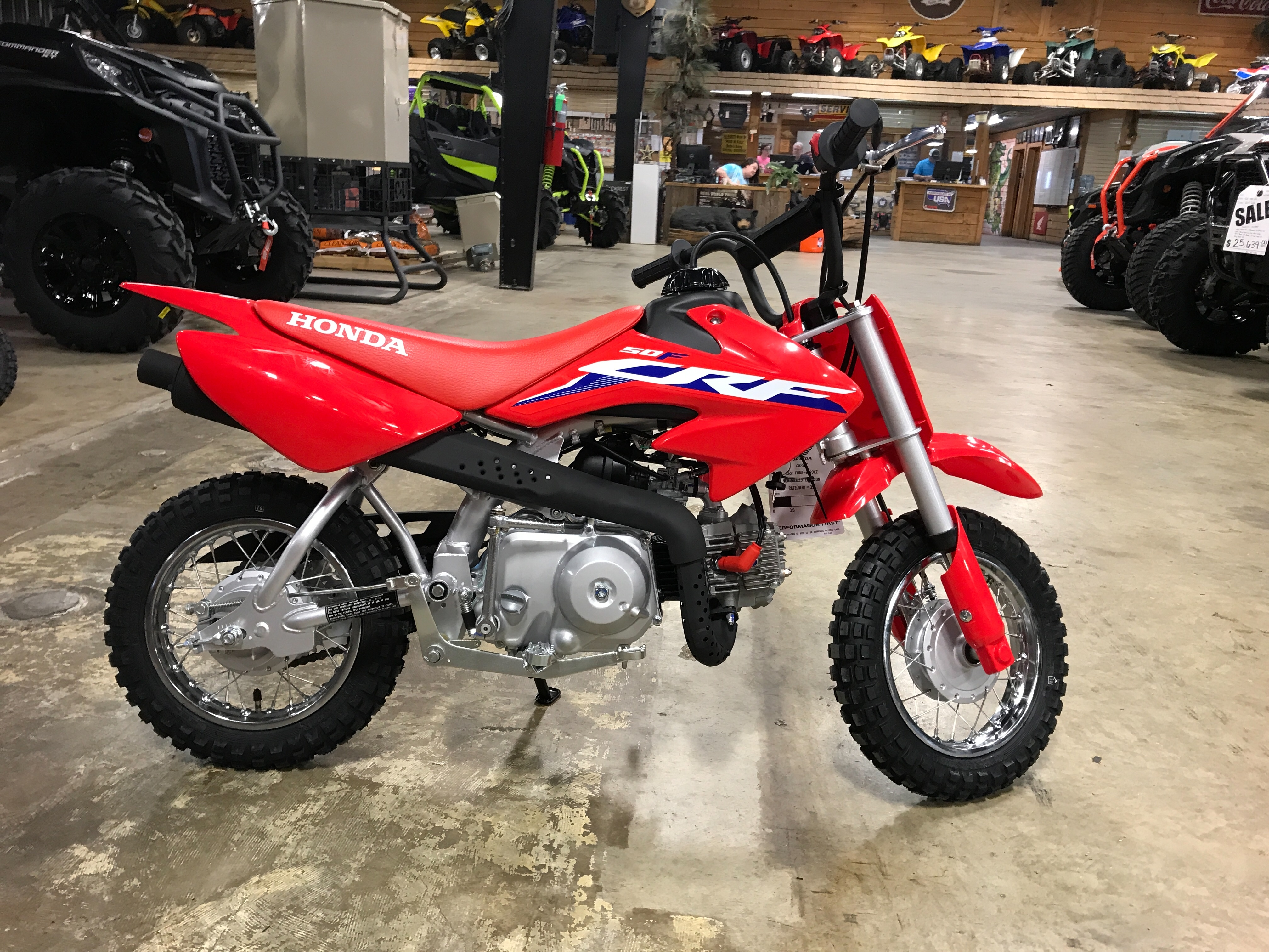 2022 HONDA CRF50FN at ATV Zone, LLC