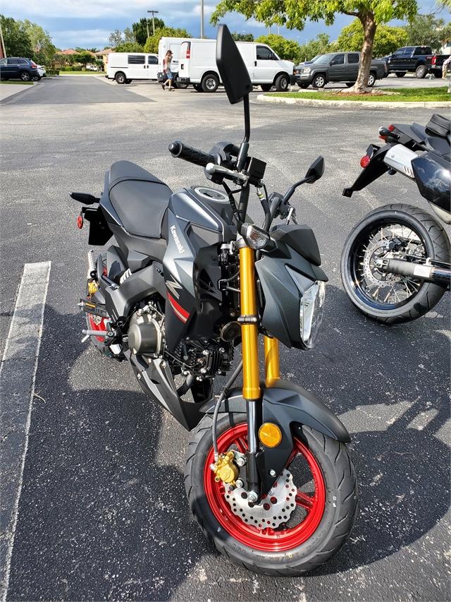 2021 Kawasaki Z125 PRO Base at Sun Sports Cycle & Watercraft, Inc.