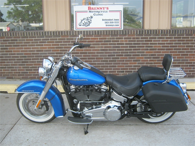 2018 Harley-Davidson Softail Deluxe at Brenny's Motorcycle Clinic, Bettendorf, IA 52722