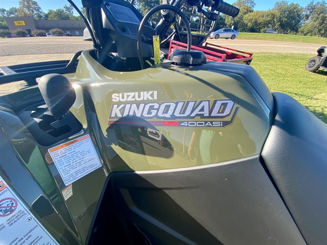 2021 Suzuki KingQuad 400 ASi at Shreveport Cycles