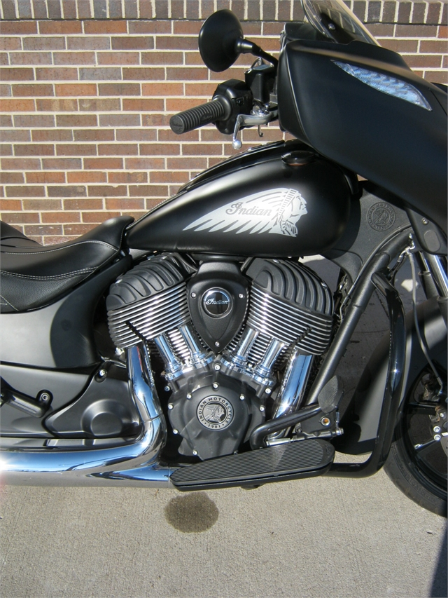 2018 Indian Motorcycle Chieftain Dark Horse at Brenny's Motorcycle Clinic, Bettendorf, IA 52722