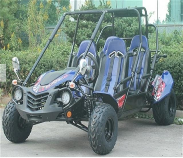 2021 TRAILMASTER BLAZER4-200X  BLUE at Got Gear Motorsports