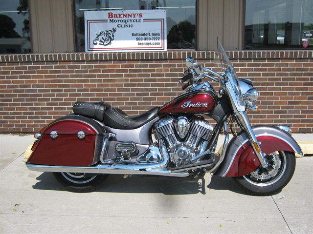 2017 Indian Motorcycle Springfield Indian at Brenny's Motorcycle Clinic, Bettendorf, IA 52722