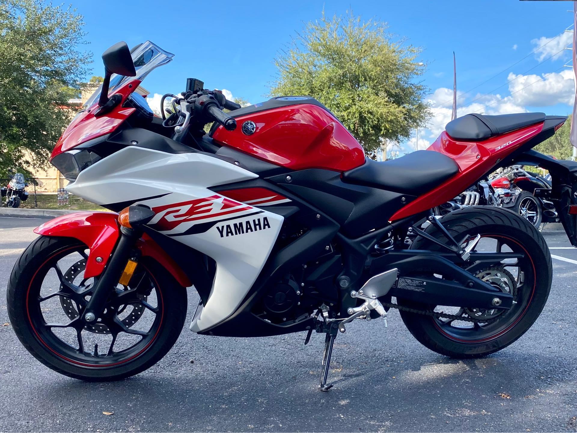 2015 Yamaha YZF R3 at Tampa Triumph, Tampa, FL 33614