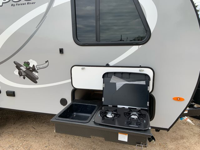 2019 Forest River R-Pod RP-180 Rear Bath at Campers RV Center, Shreveport, LA 71129