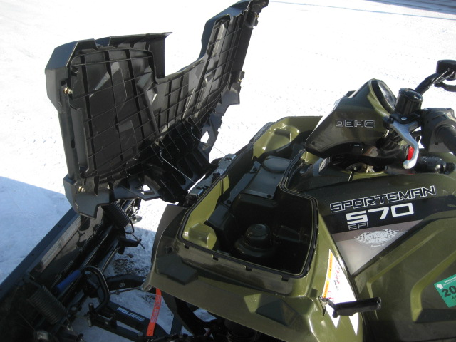 2015 Polaris Sportsman 570 Sage Green at Fort Fremont Marine, Fremont, WI 54940