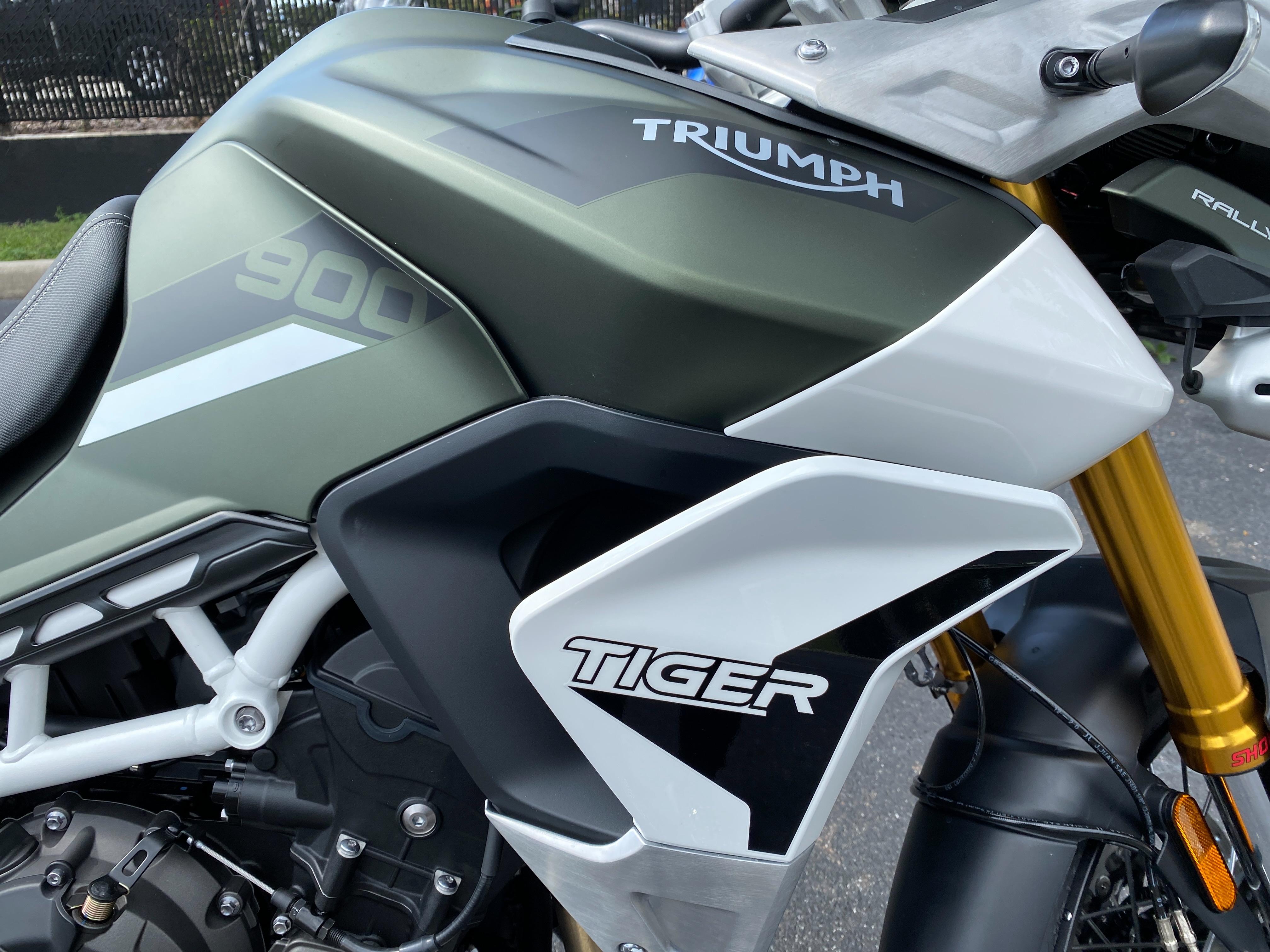 2022 Triumph Tiger 900 Rally Pro at Tampa Triumph, Tampa, FL 33614