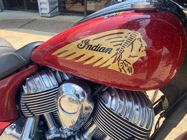 2016 Indian Chieftain Base at Shreveport Cycles